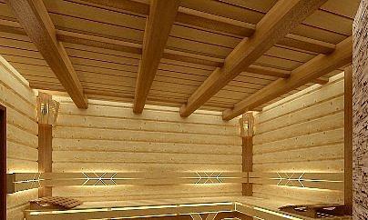 Банный потолок