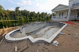 строительство плавательных бассейнов